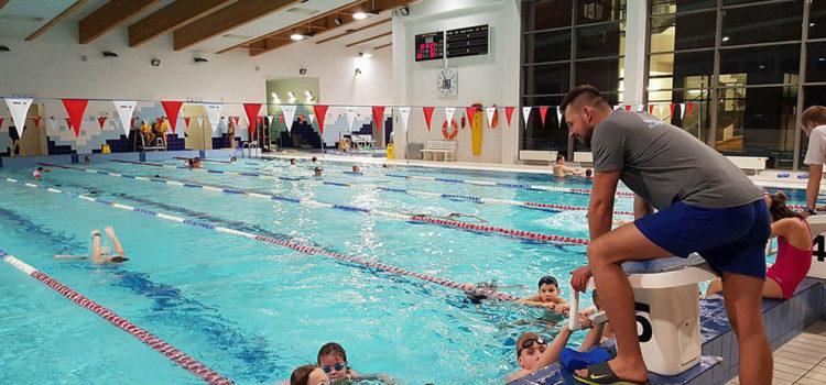 Nabór nanaukę pływania wsierpniu | basen Naquarius