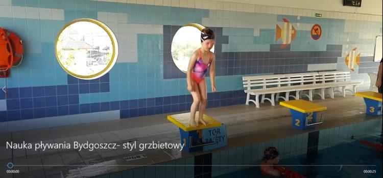 Nauka pływania | Twójpierwszy styl- styl grzbietowy