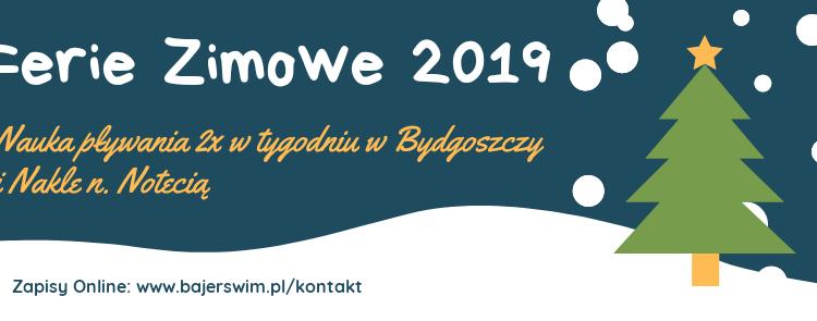 Ferie Zimowe 2019 wBydgoszczy iNakle n. Notecią