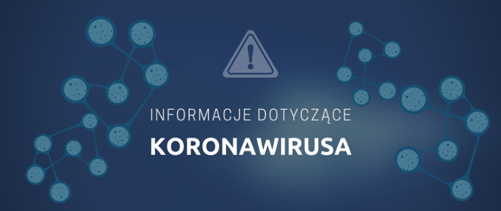 Procedury obowiązujące napływalniach podczas epidemii koronawirusa